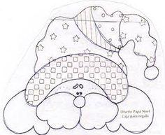 Resultado de imagen para moldes de arvores de natal em patchwork
