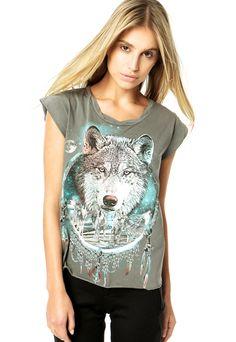 Camiseta Triton Cinza - Compre Agora  43c170b7174b9