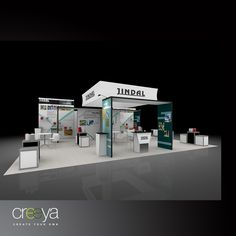 Creeya- modular display exhibit, is termed as custom modular trade show exhibit display, since it allows myriad customized configurations. It's locking & extension mechanism makes this exhibition system applicable to both-small booth areas & large booth spaces. Creeya Modulare Messestand is also available as Trade Show Rentals. Rental Exhibition stand designs offer cost cutting advantage giving complete value to your spent. This exhibition stall design has unique features, visit…