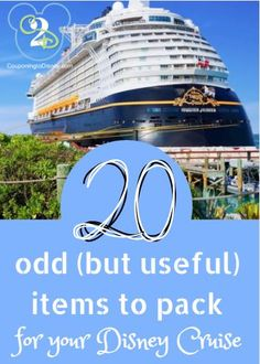disney This is not your traditional Disney Cruise packing list. Below are 20 Odd But Useful items for a Disney Cruise. Learn from others with many cruises under their belt and add these to you Disney Cruise Line, Disney Wonder Cruise, Disney Fantasy Cruise, Disney List, Disney Cruise Excursions, Disney Cruise Bahamas, Disneyland Cruise, Disney Magic Cruise Ship, Disney Honeymoon