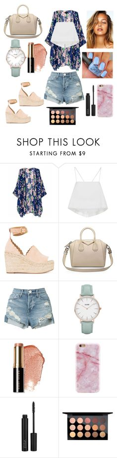 """""""Spring into Summer!!☀️🌷🌸"""" by resittig ❤ liked on Polyvore featuring A.L.C., Chloé, Givenchy, 3x1, CLUSE, Bobbi Brown Cosmetics and MAC Cosmetics"""