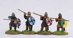 Late Saxon Thegns – Footsore Miniatures