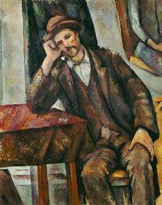 Paul Cézanne - Homme avec une pipe                              …