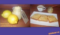 Lemon Curd doporučuji Lemon Curd, French Toast, Healthy Eating, Cheese, Homemade, Drinks, Breakfast, Lemon, Eating Healthy
