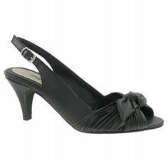 Easy Street Ellie Shoes (Black) - Women's Wedding Shoes - 7.5 2A