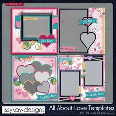 All About Love by LissyKay Designs