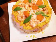 ひな祭り、初節句ちらし寿司の画像
