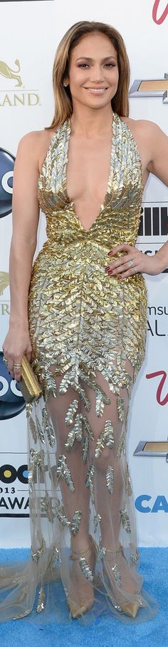 Red Carpet Glamour : Jennifer Lopez in Zuhair Murad gown | The House of Beccaria