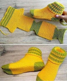 Two Needle Socks - Free Knitting Pattern (Amazing Knitting) - - . - Two Needle Socks – Free Knitting Pattern (Amazing Knitting) – – … Two Needle Socks – Free Knitting Pattern (Amazing Knitting) – – Knitting Patterns Free, Knit Patterns, Free Knitting, Baby Knitting, Pattern Sewing, Crochet Stitch, Free Crochet, Knit Crochet, Beginner Crochet