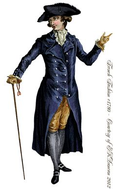 EKDuncan - My Fanciful Muse: Late 18th Century French Fashions for Men - PNGs