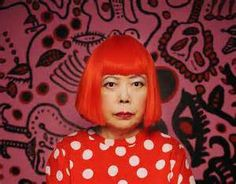 One of seven influential women artists showcased in this article. Yayoi Kusama, Most Popular Artists, Famous Artists, Artist Art, Artist At Work, Peter Gabriel, Artists For Kids, Japanese Artists, Famous Women