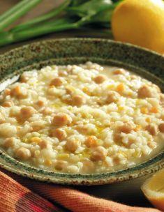 Minestra di ceci e riso al limone - Tutte le ricette dalla A alla Z - Cucina Naturale - Ricette, Menu, Diete