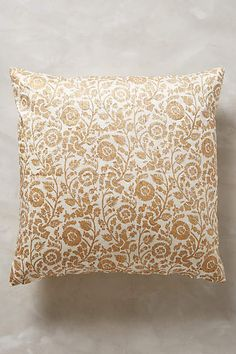 "John Robshaw Bara Pillow - anthropologie.com. 20""sq. $198. Master Bed"