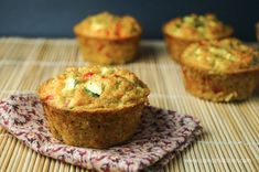 Quinoa Egg Muffins - Slender Kitchen. Works for Vegetarian, Weight Watchers®, Gluten Free and Clean Eating diets. 203 Calories.