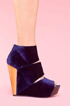 love the royal blue velvet