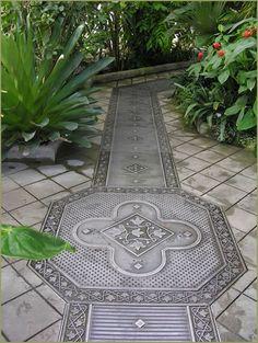 Very nice greenhouse floor drain