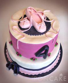 Ballerina Cake - Torta de Bailarina