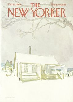 The New Yorker - Saturday, February 15, 1969 - Issue # 2296 - Vol. 44 - N° 52 - Cover by : James Stevenson