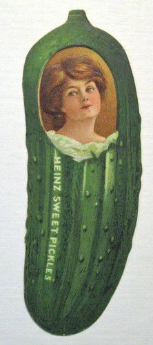 Pickle Shaped Heinz Trading Card Vintage Advertisements, Vintage Ads, Vintage Antiques, Vintage Seed Packets, My Bookmarks, Humpty Dumpty, Pocket Letters, Old Postcards, Smash Book
