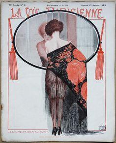 Georges Léonnec (1881 – 1940). La Vie Parisienne, 17 Janvier 1925. [Pinned 26-i-2018]