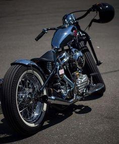 Panhead bobber #motorcycle #motorbike