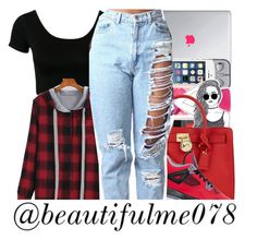 """""""Flannel ."""" by beautifulme078 ❤ liked on Polyvore featuring Michael Kors and Retrò"""