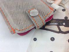 Handytasche  nach Maß - DE LUX  von Angie Holste -  Manufaktur ☆ Accessoires aus Leder auf DaWanda.com