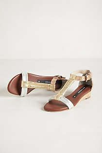 Anthropologie - Coppelia T-Strap Sandals