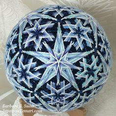 Japanese Temari: A new design for winter