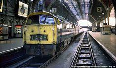 Electric Locomotive, Diesel Locomotive, British Rail, Train Pictures, Train Engines, Looks Cool, Great Britain, Liverpool, Wwii