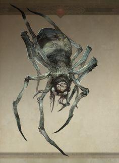 Great Spider of Mirkwood by Jon Hodgson