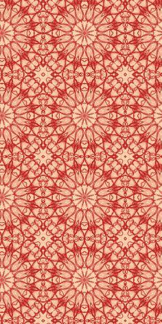 "Pattern from the designer's ""Red ocean"" series by Argentinian illustrator & graphic designer Laura Varsky. via the designer's site"