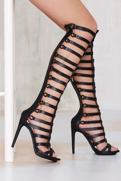 9cebd4af7 Nasty Gal Advantage Gladiator Heel - Designed By Us