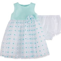 jcpenney.com | Marmellata Sleeveless Dot Print Ballerina Dress - Baby Girls 3m-24m