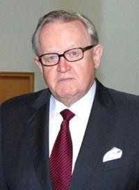 Martti Ahtisaari – Nobel da Paz em 2008 (Finlândia). Wikipédia 1a9ba9e593