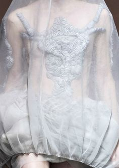 fabric treatment, fabric manipulation, couture details, gathering, layering, fashion design. Yiqing Yin
