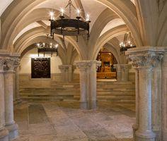 Chiltern Estate - Hillsborough, California -- Entry to banquet room.