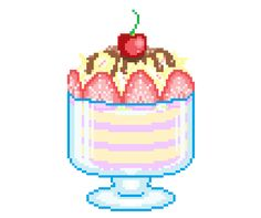 Image result for food pixel gif tumblr