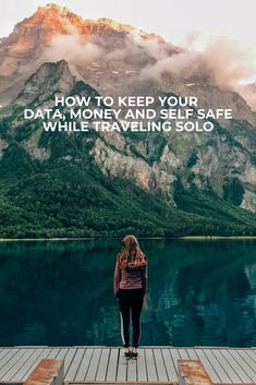 How to keep your data, money and self safe while traveling solo #safety #solotravel #travelhacks #travelinsurance