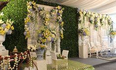 #siramanjawa #decor #mawarprada Javanese Wedding, Wedding Mood Board, Wedding Decorations, Table Decorations, Wedding Preparation, Wedding Things, Wedding Stuff, Wedding Ideas, Stage Design