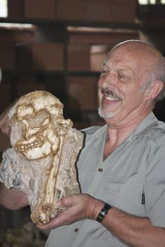 "Australopithecus prometheus - Stw 573 - ""Little Foot"" & Ron Clarke"