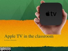 A short presentation on how to use an Apple TV in a classroom that is equipped with one or more iPads and/or a MacBook.