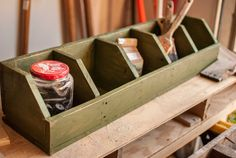 Handmade 5 Pocket Storage Cubby - Made of Reclaimed Wood on Etsy, $60.00