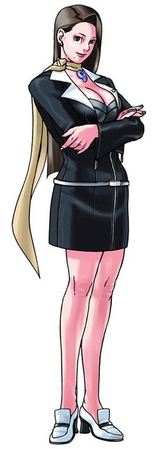 Mia Fey from Phoenix Wright: Ace Attorney