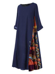 Plus Size Long Dresses, Short Sleeve Dresses, Cheap Dresses Online, African Fashion Dresses, Women's Fashion Dresses, Abaya Fashion, Swing Dress, Look Fashion, Fashion Design