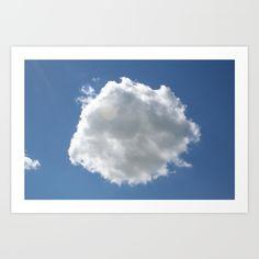 Clouds art print by yellow barn studio 16 00