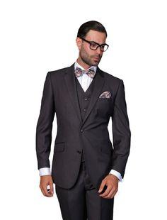 Statement Three Piece Modern Fit Suits – MaksMenswear