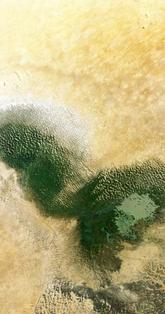 Landsat-8/NASA Photograph: Nasa Lake Chad in west Africa's Sahel region