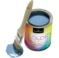 Try your color before you commit. Buy a Benjamin Moore sample to test the color before your buy the gallon.