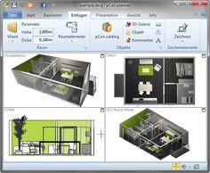 pCon.planner, software libre para diseño de interiores en 3D